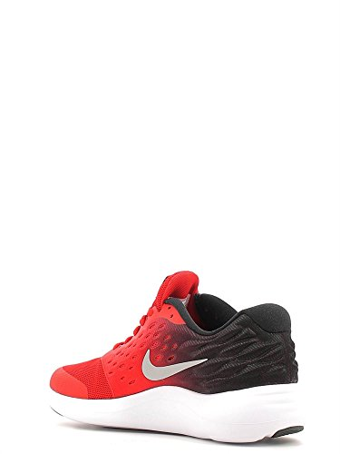 Nike Lunarstelos (Gs), Zapatillas de Running para Hombre Rojo (Rojo (university red/metallic silver-black))