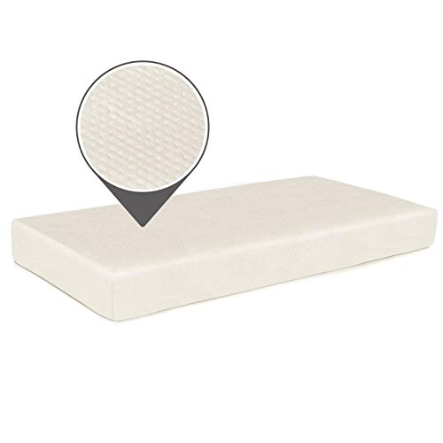 Milliard Memory Foam Crib Mattress + Waterproof Washable Bamboo Cover | Premium Hypoallergenic Toddler Bed and Next Stage Baby Mattress | - Foam For Crib Memory