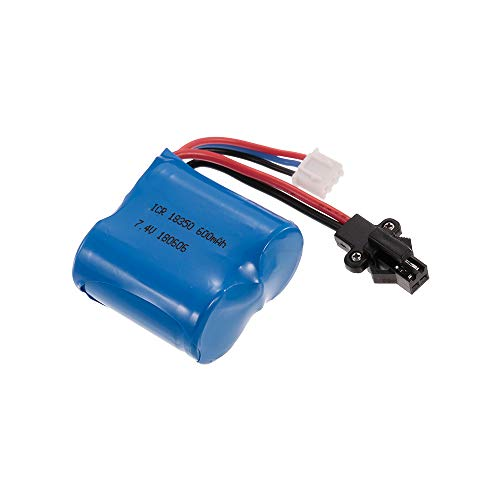 SkyTech 7.4V 600mAh Li-ion Battery H100 2.4G Electric RC Boat ()