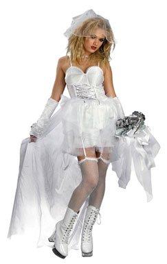 Pop Star Bride Sexy Adult Halloween Costume