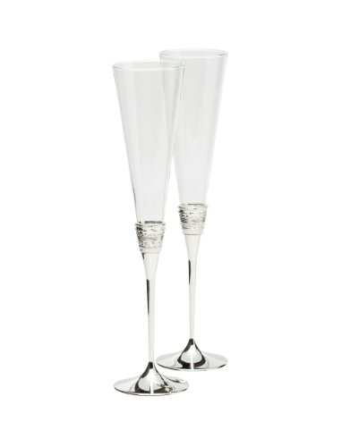 Vera Wang Wedgwood 5700366117 With Love Toasting Flute Pair by Vera Wang Wedgwood
