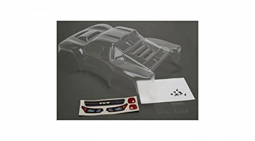 (Team Losi Racing Body Set Pre-Cut Clear w Stickers: 22SCT 2.0)