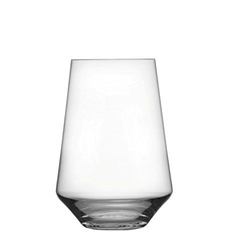 - Schott Zwiesel Tritan Crystal Glass Pure Barware Collection Stemless Bordeaux Red Wine Glass, 18.5-Ounce, Set of 6