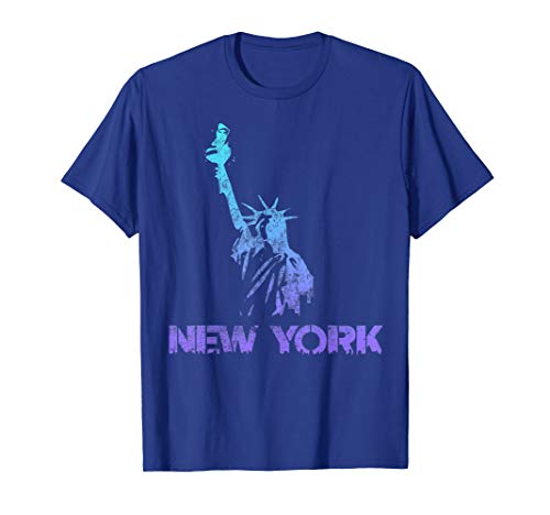 Vintage New York Liberty Gradient 4th of July NY Souvenir -