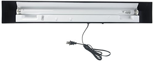 Fluorescent Hood Full (All Glass Aquarium AAG25930 Fluorescent Strip Light, 30-Inch)