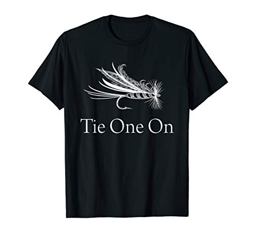(Tie One On Fly Fishing Shirts - Fishing Gear Shirt Men Women )