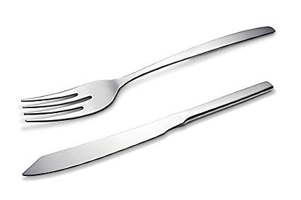 Eñe Tenedor y Cuchillo para Pescado, Acero Inoxidable ...
