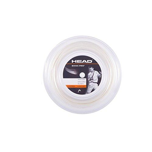 HEAD Sonic Pro Tennis String – 1 Reel – 17 gauge – White