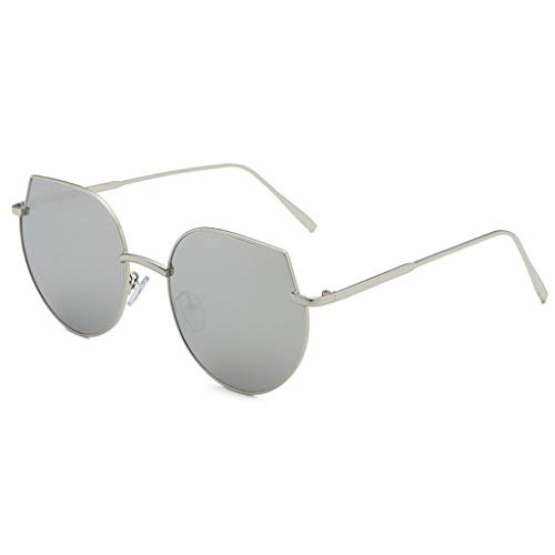 TIFENNY Fashion Round Sunglasses for Man Women Irregular Shape Glasses Vintage Retro Punk Style Sunglasses Eyewear