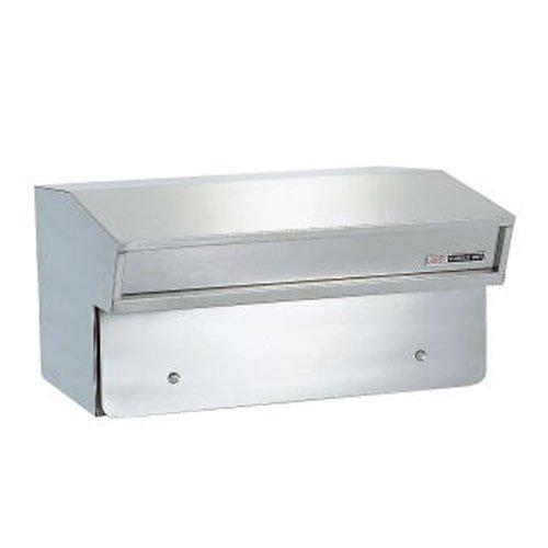 郵便ポスト ハッピー金属 ファミール641 フェンス取付据置式 前入れ後出し B06WW4N2VN 13990
