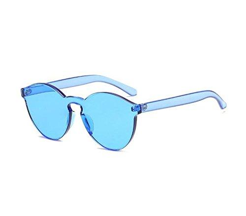 Huateng classique de de Bleu rondes non soleil polarisées UV400 mode lunettes Lunettes intégrées rUOw8r