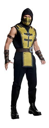 Rubie's Men's Mortal Kombat X Scorpion Costume, Multi, Standard -