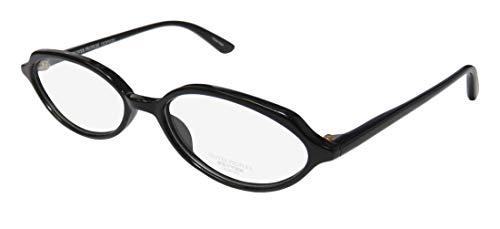 Oliver Peoples Larue Mens/Womens Cat Eye Full-rim Classic Eyes Shape Eyeglasses/Eyeglass Frame (52-16-140, Black) (52 16 140 Brille)