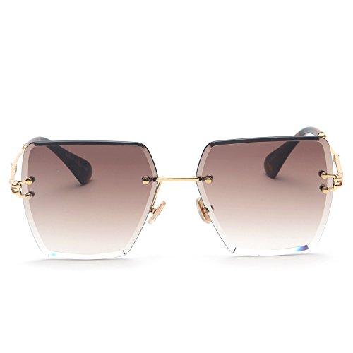 de Cuadrados para Sunglasses TL Gafas de Sol Don Gafas Mujeres de Sol Multicolor Mujer UV400 n7vq14n