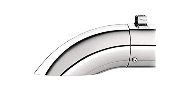 Kerker 108-8027 3.5 Slash Cut Replacement End Cap with Chrome Finish