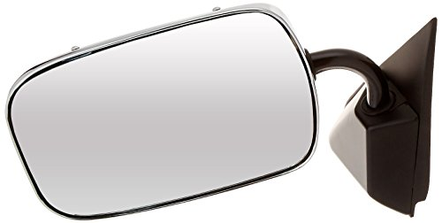 CIPA 46300 Chevrolet/GMC OE Style Chrome Manual Replacement Driver Side Mirror - Mirror Drivers Side Chrome Manual