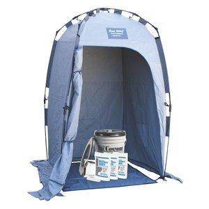 Porta-Quick Brief ReliefPro Grade Field Lavatory Kit w/Privacy Enclosure