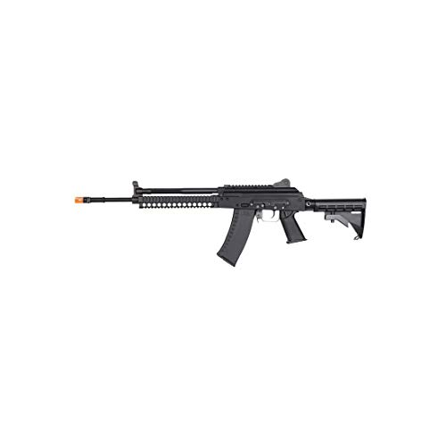 KWA AKG-KCR Full Metal 6mm Gas Blowback 40rd Airsoft Rifle, Black