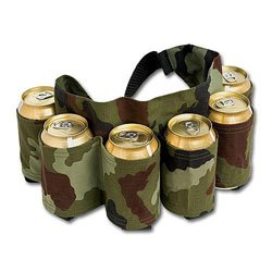 Camo Six Pack Holster