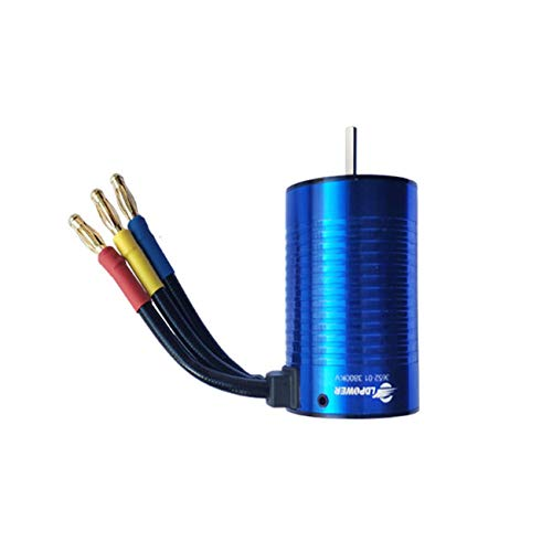 FayOK LDPOWER 3652-01 4 Poles 2-4s 3.175mm Shaft Diameter 3800KV Brushless Motor for 1:10 RC Car Model Spare Parts Accessories