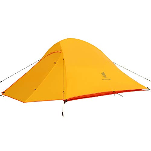 GEERTOP Campingzelt Ultraleichte 2 Personen Doppelten Zelt 3-4 Saison Camping Zelt für Trekking, Outdoor, Festival mit…