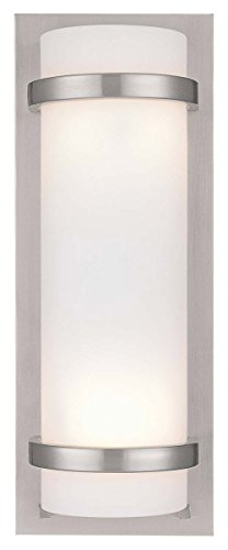 2 -Light Wall Sconce, Brushed Nickel (Great Lodge Four Light)