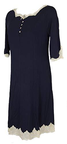Women's nightdress nightwear sleepwear lace GIANANTONIO A. PALADINI item PAMELA made in ITALY