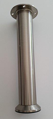 Mobelfuss O 35mm Sockelfuss Mobelbein Hohe 200mm Hohenverstellbar