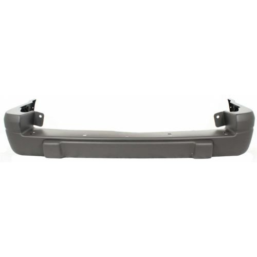 Make Auto Parts Manufacturing - GRAND CHEROKEE 96-98 REAR BUMPER COVER, Raw, Laredo Model - CH1100815
