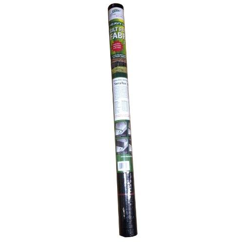 Hanes Geo Components 76430 Commercial Grade Sediment Runoff Silt Fence Fabric, 3-Feet x 50-Feet ()