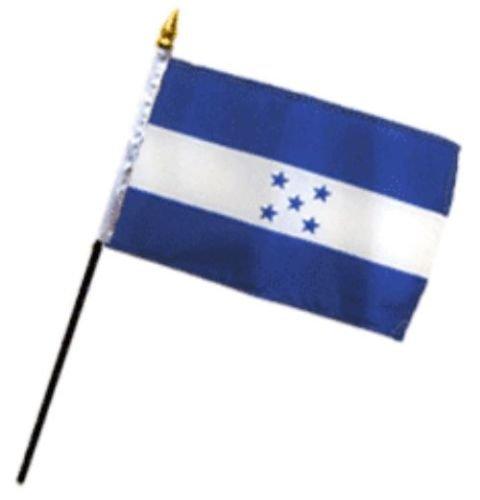 "Honduras 4/""x6/"" Flag Desk Table Stick"