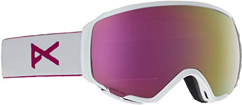 Anon Women's WM1 Goggle with Spare Lens, Pearl White