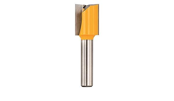 Fresa de corte recto 2 cortantes Dewalt DR1007-XC