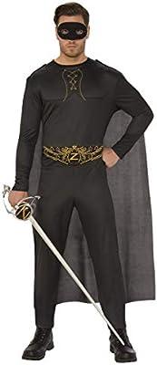 Disfraz de El Zorro para hombre, Talla M adulto (Rubies 820965-M ...