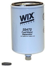 WIX Filters - 33472 Heavy Duty Spin On Fuel Water Separator, Pack of 1
