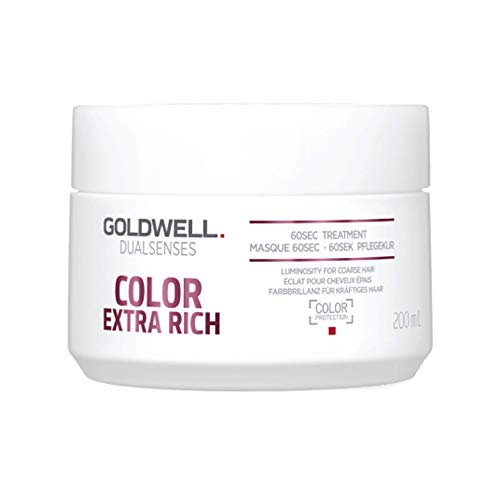 - Goldwell Dualsenses Color Extra Rich Brilliance 60sec Treatment Amplifiy Luminosity & Nourish 6.8oz