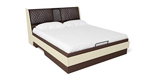 GODREJ INTERIO Aero Queen Size Bed with Storage (Valigny Oak)