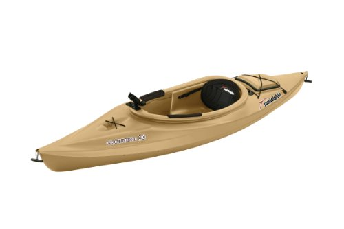 Sun Dolphin Excursion Sit-in Fishing Kayak (Sand, 10-Feet)