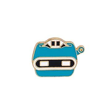 Leisial Spilla Perno Accessori per Borse di Vestiti Aereo//Astronauta//Robot//Pianeta//Rivelatore Modellismo Serie Cosmiche Removibile Corpetto Lega Regalo Creativo