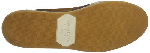 Pantofola d'Oro Frederico Uomo Mid - Zapatillas Hombre marrón (tortoise shell)