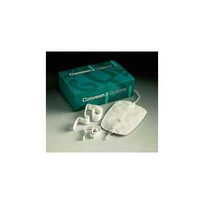 MCK50621900 - Mentor Urinary Leg Bag Conveen Security+ Anti-Reflux Valve 1500 mL Polyethylene