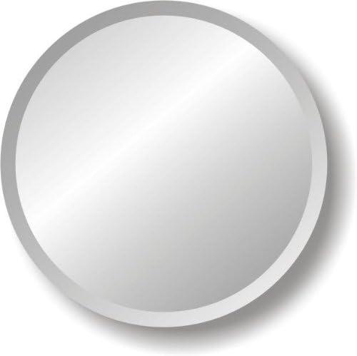 42 Round Frameless Mirror