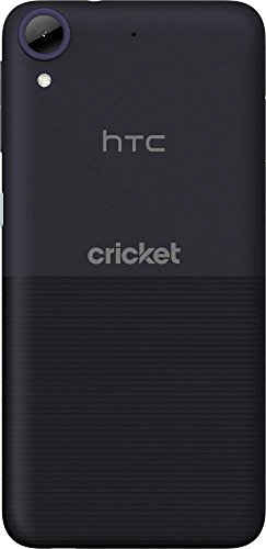 Cricket Wireless - HTC Desire 550 4G LTE with 16GB Memory Prepaid Cell Phone - Black by Cricket Wireless (Image #1)