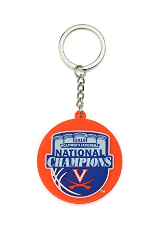 Collegiate Pulse UVA Virginia Cavaliers National Basketball Champions Keychain