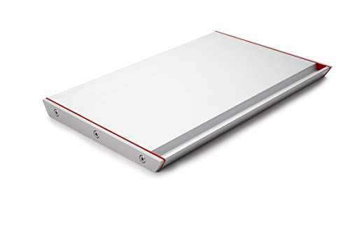 That Inventions Professional Quick Food Defrosting Tray and Thawing Plate, Red