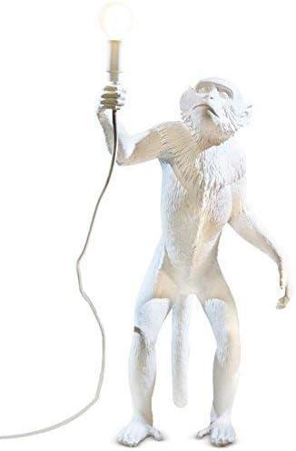 SELETTI Lampada in Resina Monkey Lamp-Outdoor Cm.46X27,5 H.54 in Piedi