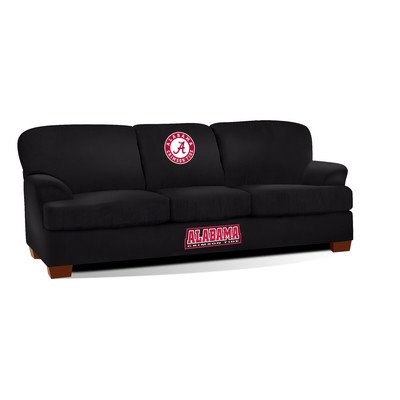 Imperial Officially Licensed NCAA Furniture: First Team Microfiber Sofa/Couch, Alabama Crimson -