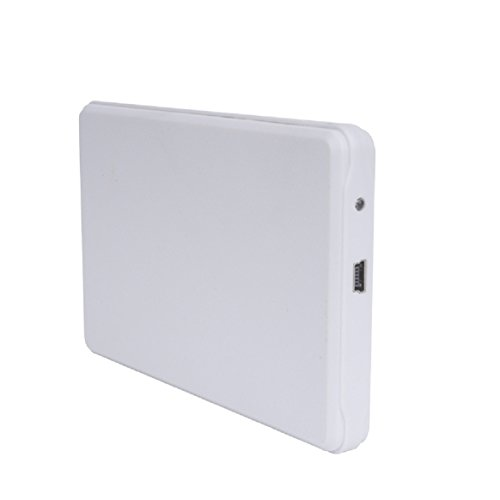 Coerni USB2.0 Portable 2TB External Hard Drive Case (White)