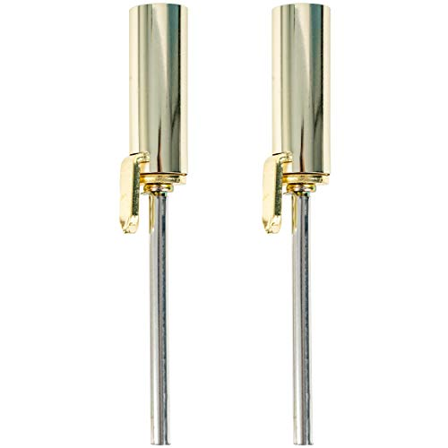 Ideal Security SK50P2PB Hinge Pin Automatic Closer for Interior Doors, Polished Brass