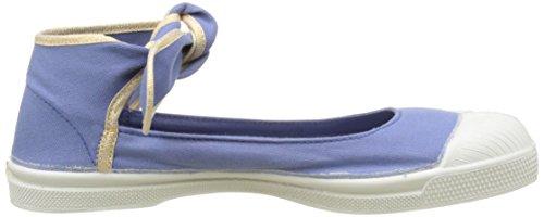 Bensimon Tennis Flo Shinypiping - Botas Mujer azul (Denim)